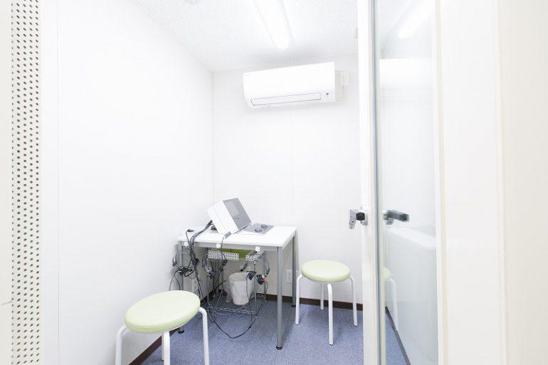 聴力・平衡機能検査室