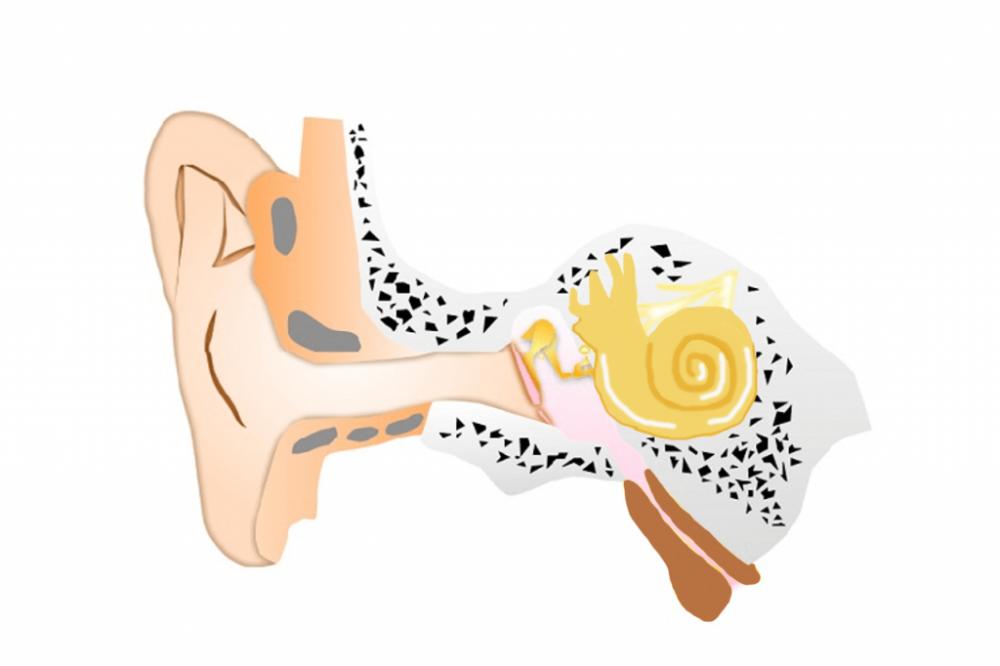 急性中耳炎治療後